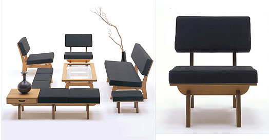 Fabulous japanese furniture by graf twenty first century for Japanese furniture