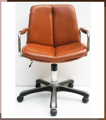 retro pieff office swivel chair